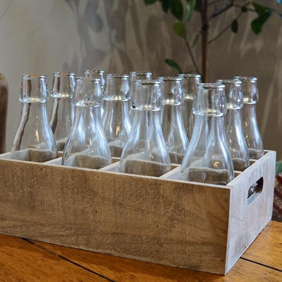 bottles in box