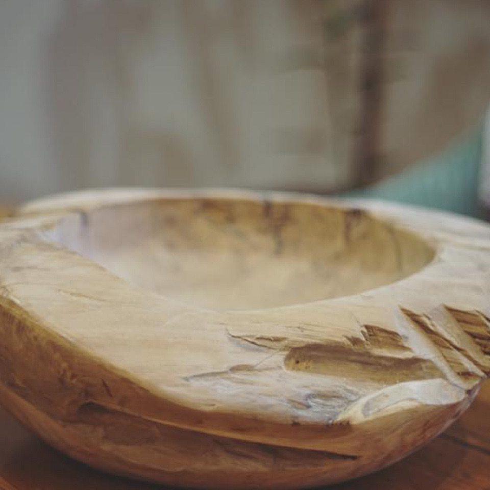 wooden bowel